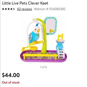 Other - Like new Little Live Pet Clever Keet